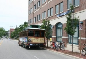 Ann Arbor Art Fair Trolley