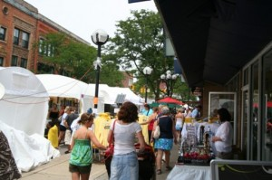 Ann Arbor Art Fair, Downtown Ann Arbor