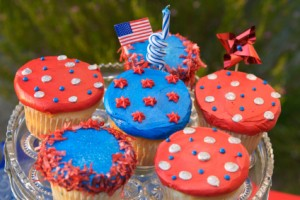 Ann Arbor Labor Day Activities, Patriotic Picnic Cupcakes