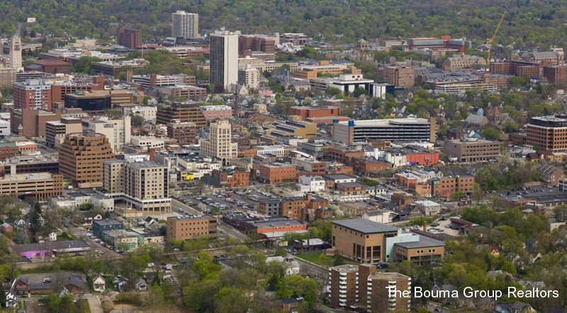 View of Downtown Ann Arbor Condos