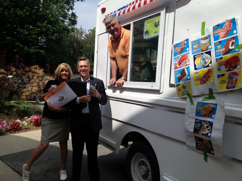 Ice Cream Truck at The Bouma Group Office
