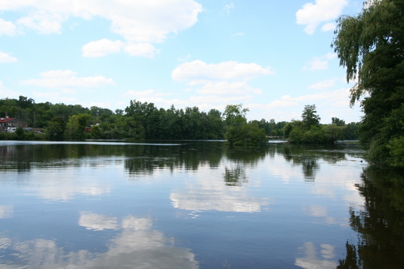 View of Argo Pond Ann Arbor