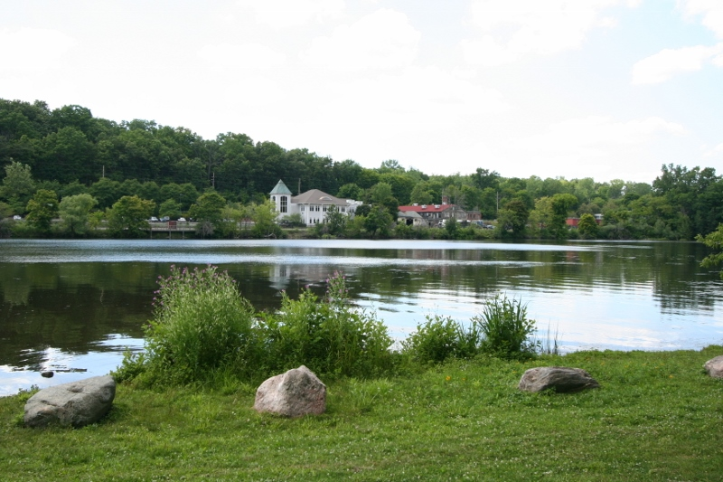 View Across Argo Pond, Ann Arbor