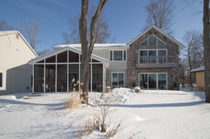 10262 Buhl Drive, Pinckney MI Home for Sale on Strawberry Lake