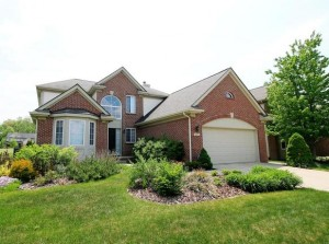 6505 Wisteria Trace, Ann Arbor MI Home for Sale at Kirkway of Scio