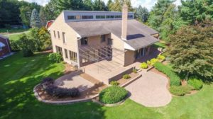 43303 S Interstate 94 Service Drive, Belleville MI Lakefront Luxury Home